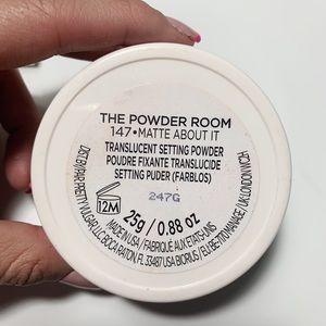 Pretty Vulgar - translucent setting powder